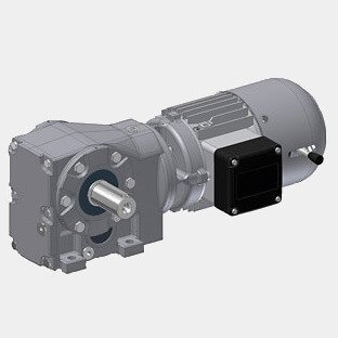 HIMMEL® Helical Bevel Geared Motors